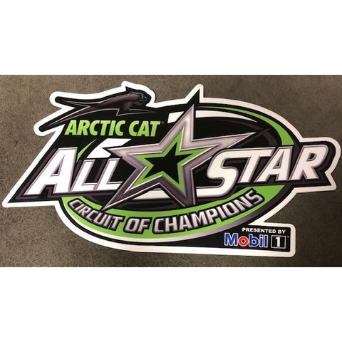 All Star Wing Panel Sticker