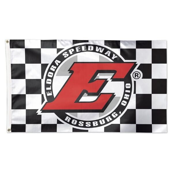Eldora 3x5 Checkered Flag