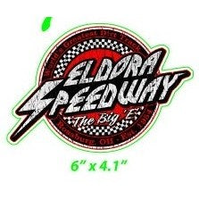 Retro Eldora Decal