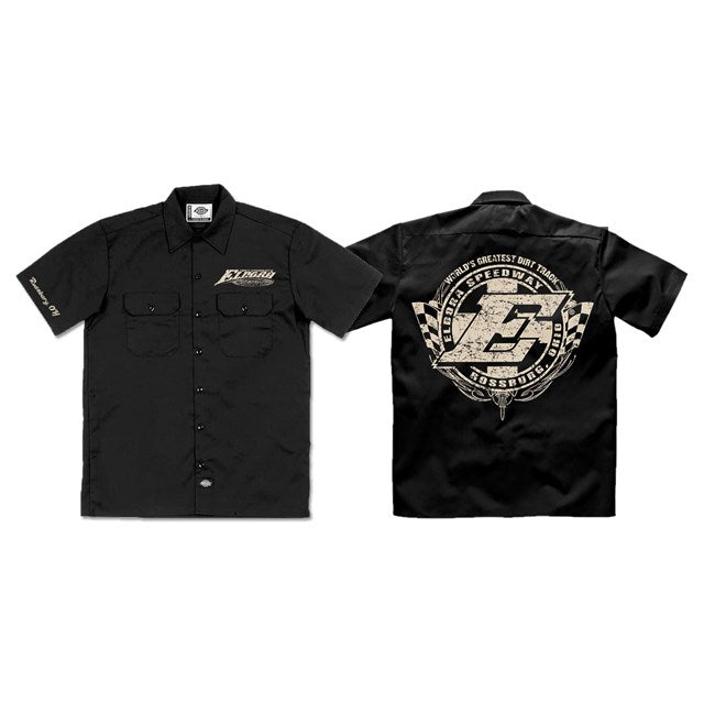 Black Eldora Dickies Work Shirt (2775978180708)