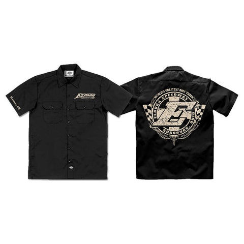 Black Eldora Dickies Work Shirt