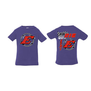 Go Big E INFANT Tee-Purple