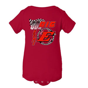 Go Big E ONESIE-Red