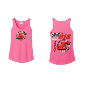 Go Big Ladies Tank-Pink