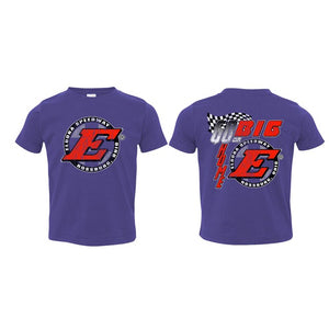 Go Big E TODDLER Tee-Purple