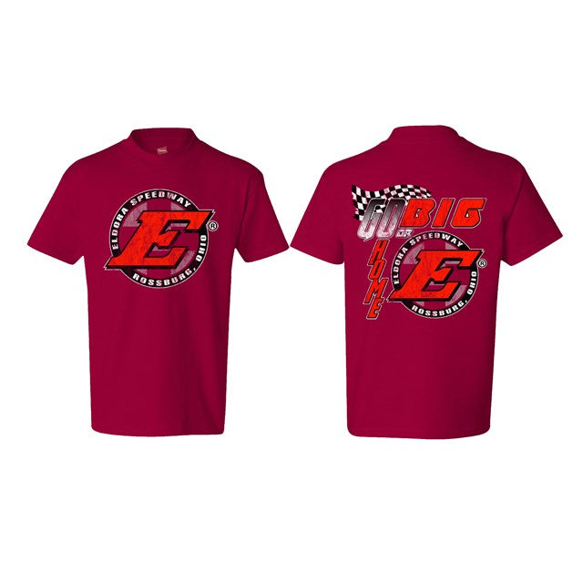 Go Big E YOUTH Tee-Red (2644709015652)
