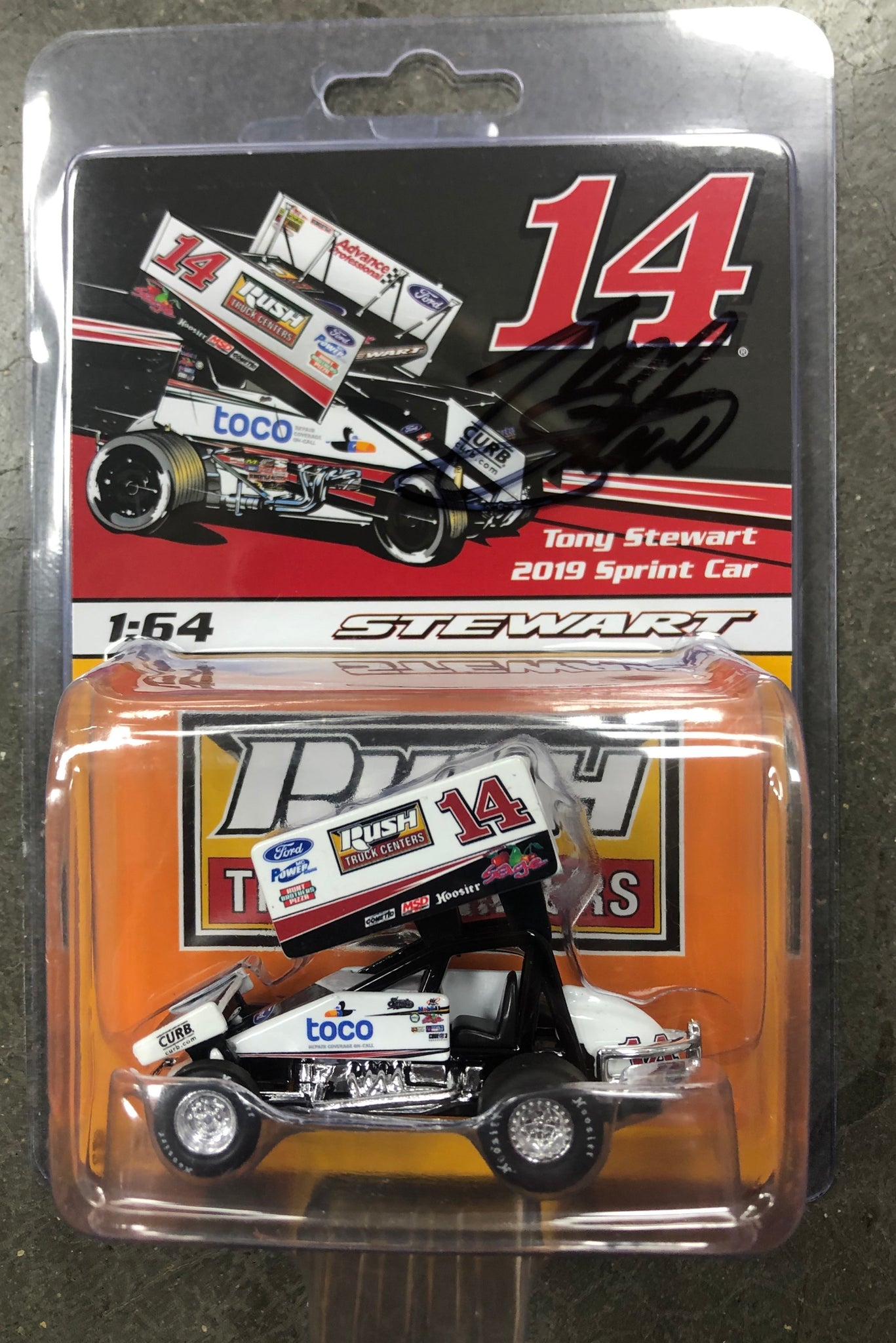 2019 1:64 Autographed Diecast   *Special Item*
