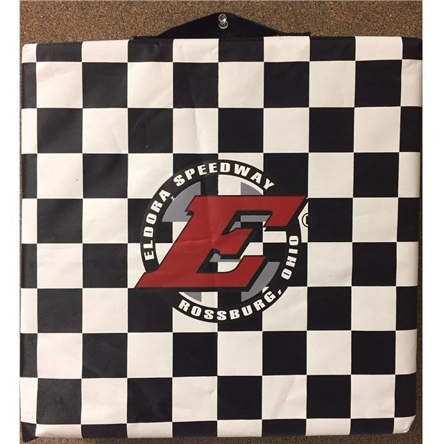 Big E Checkered Seat Cushion (2644668252260)