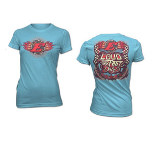 LFD LADIES TEE-IRIS BLUE (2644700299364)