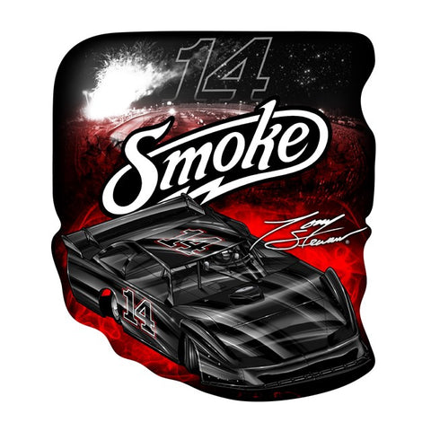 Smoke Late Model Decal