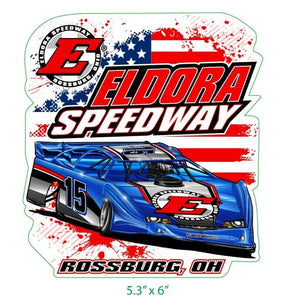Big E Late Model Decal