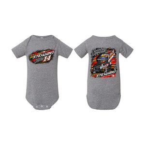 Wide Open Onesie-GRAY