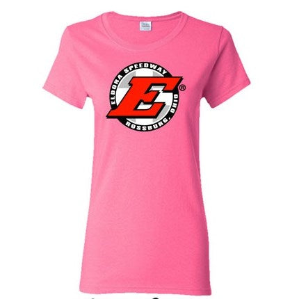 Eldora Ladies Tee-Safety Pink