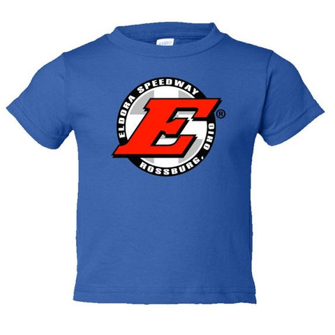 Eldora Toddler Tee-Blue