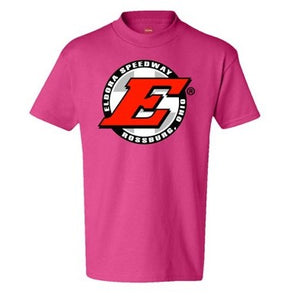 Eldora Youth Tee-WOW Pink