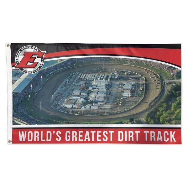 Greatest Oval Track 3x5 Flag (2644675461220)