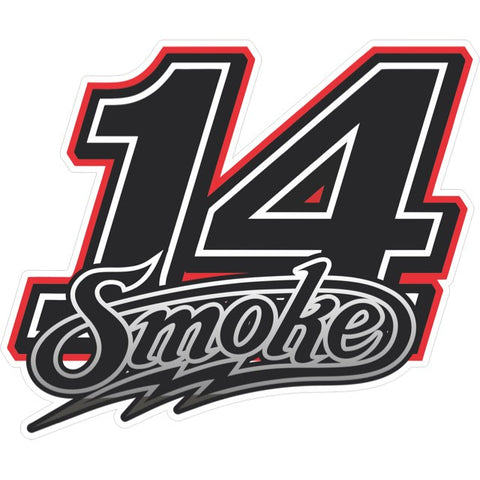 Smoke #14 Decal (2775993352292)