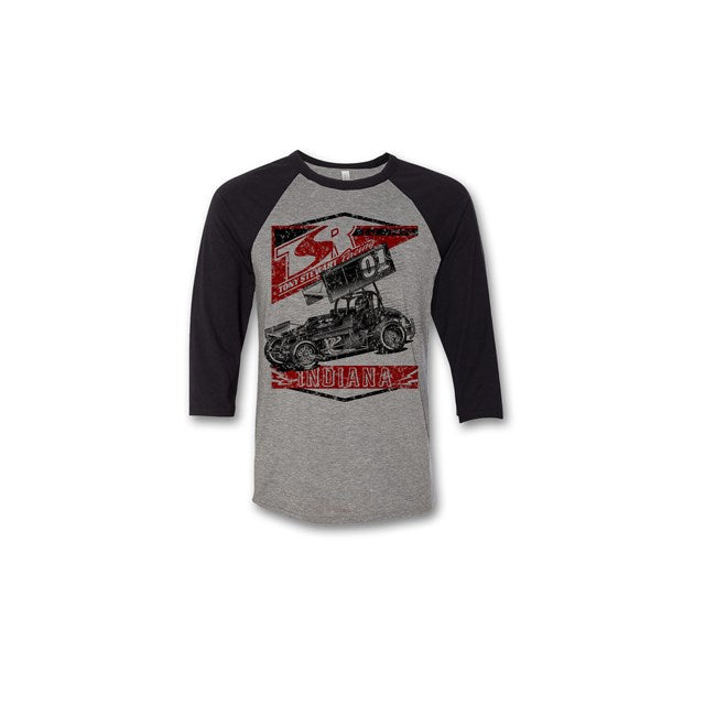 TSR Retro Baseball Tee