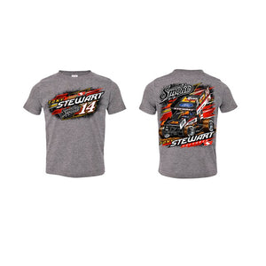 Wide Open INFANT Tee-Gray