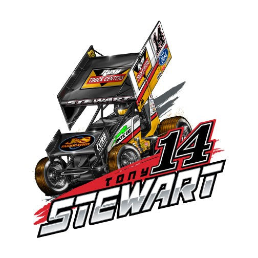 WS Car #14 TS-Decal