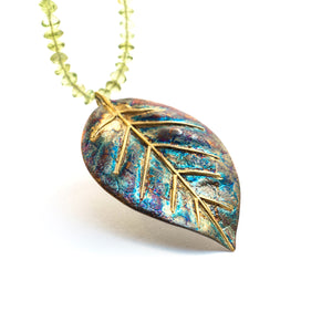 Zamia Leaf Necklace