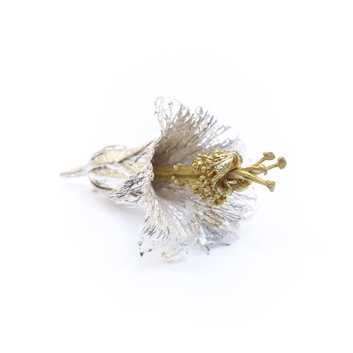 Hibiscus Flower Brooch