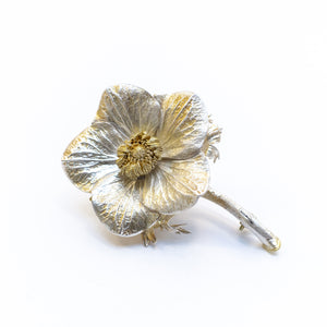 Anemone Flower Brooch