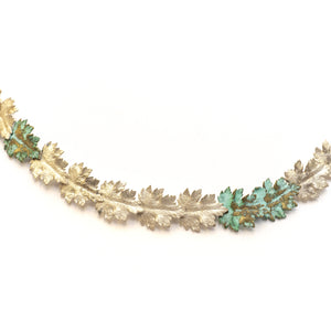 Chrysanthemum Leaves Necklace