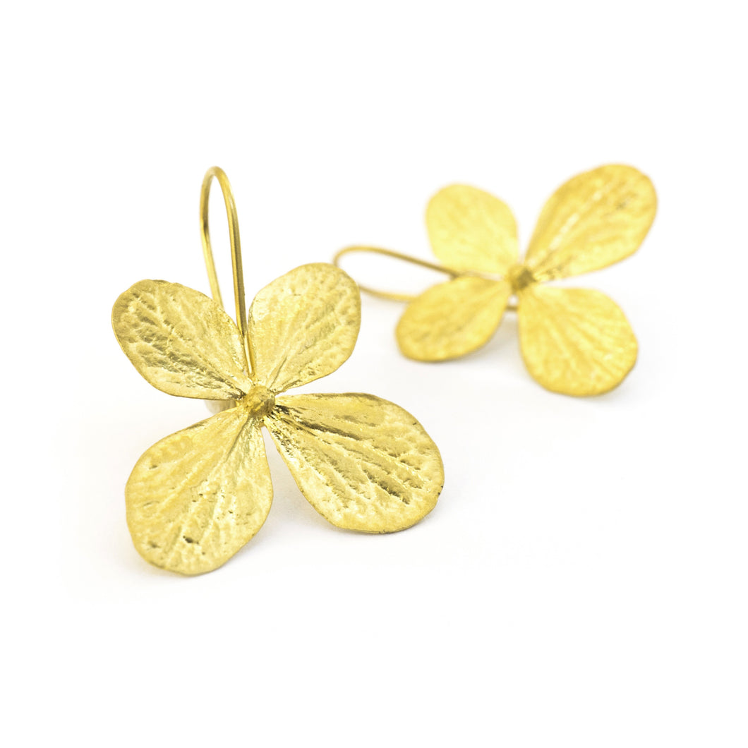Hydrangea Flower Earrings - sifisjewellery Chaniajewellery Flowerjewellery Chania Flowerjewelery Flowersproducts
