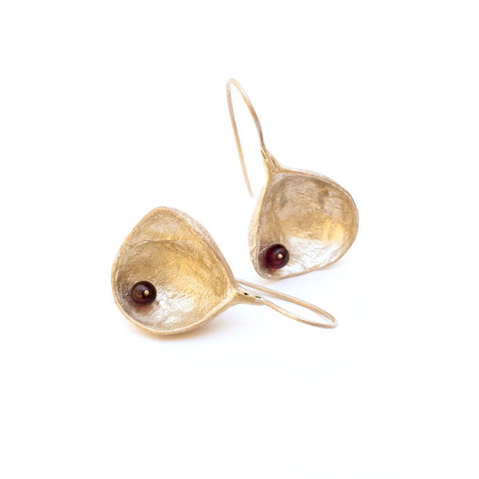 Dwarf Pomegranate Earrings