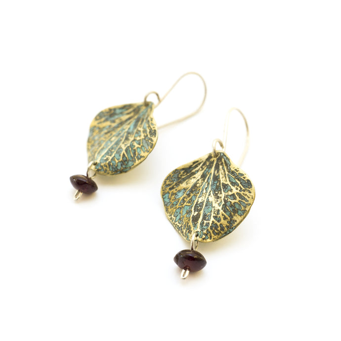 Anemone petals Earrings - sifisjewellery Chaniajewellery Flowerjewellery Chania Flowerjewelery Flowersproducts