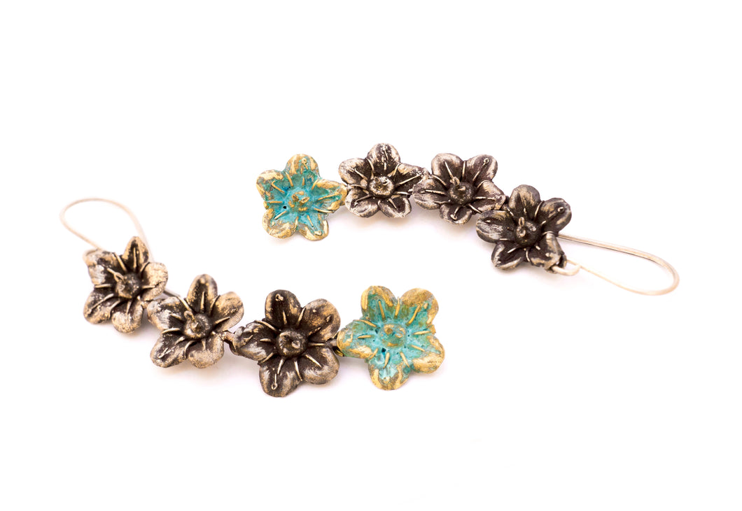 Ecballium Elaterium Flower Earrings