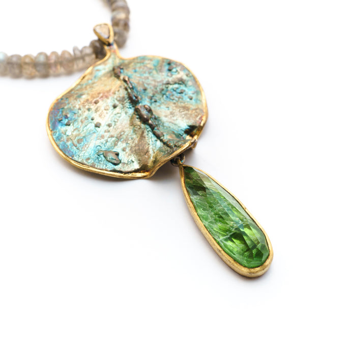 Eucalyptus Necklace