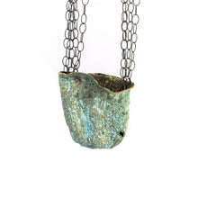 Load image into Gallery viewer, Dried Eggplant Necklace - sifisjewellery Chaniajewellery Flowerjewellery Chania Flowerjewelery Flowersproducts