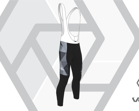 She Rides Winter [DAM] Zima Brushed Bib Tights PADDING (Autumn)