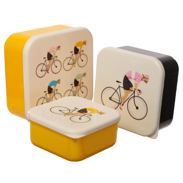 LIFE SUPPLY - Set of 3 Lunch Boxes