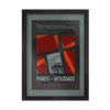 POSTERS -  Paris Roubaix - FRAMED