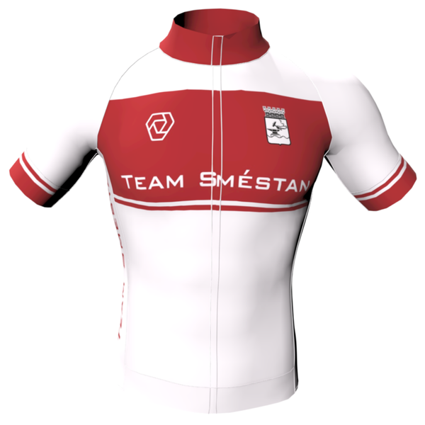 -Team Smestan - WHITE (DAM) - Strike Jersey [FITTED]