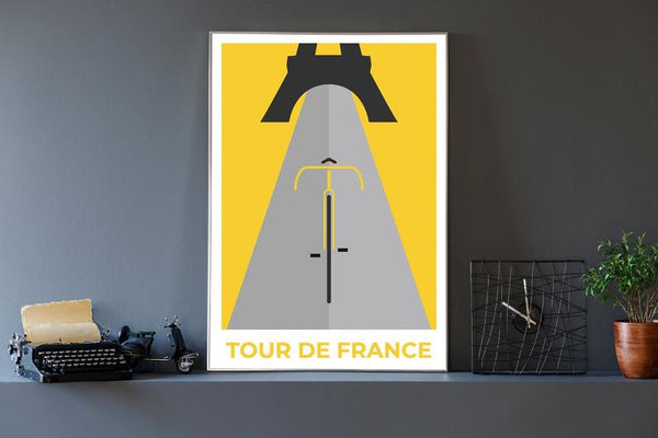 POSTERS - Tour De France Unframed 30x40