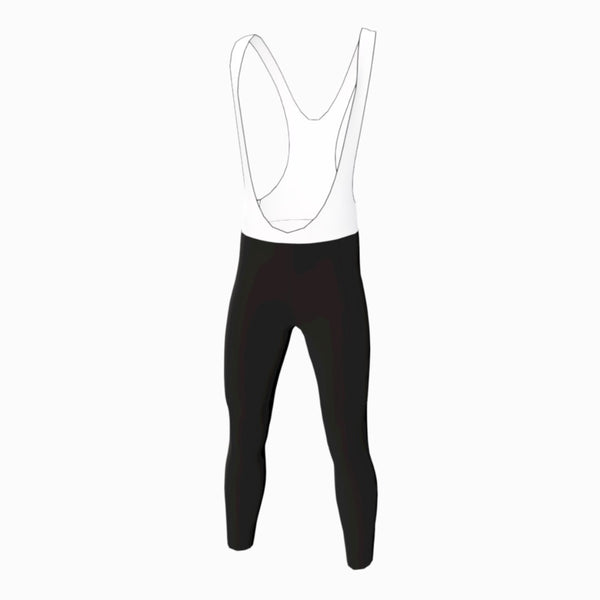 Rocket Racing Team [DAM] Zima Brushed Bib Tights [GREY Edition 2020]