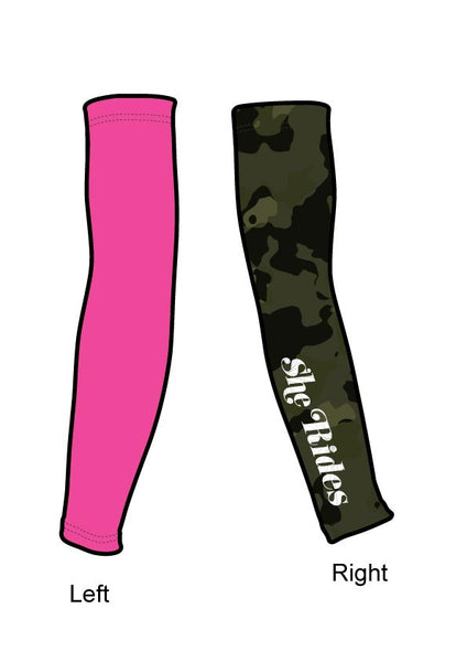 She Rides DAM Elite Arm Warmer [CAMO]