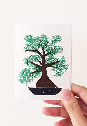 Bonsai Tree Mini Card