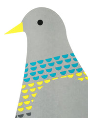 Supersize A1 Pigeon Print