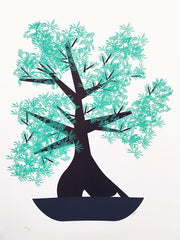 Supersize A2 Bonsai Tree Print