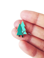 Tree Buds Pin