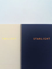 Twilight To Starlight Handmade Notebook