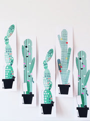 Cactus Fold-Out Card