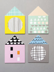 House Coaster Set