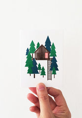 Tree house Mini Card