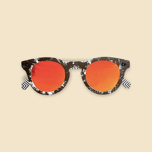 Papershades - Moonshade - Orange Lenses